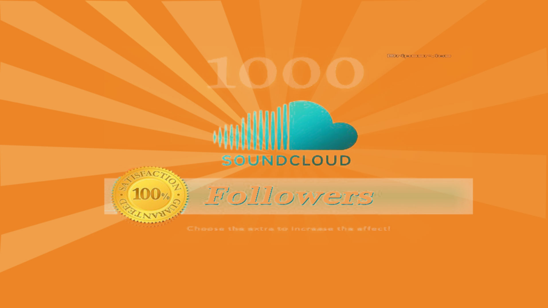 1000 soundclud play &1000 real and active followers