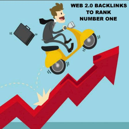 provide you 20 pr7, pr8 or pr9 web 2.0 highquality backlink