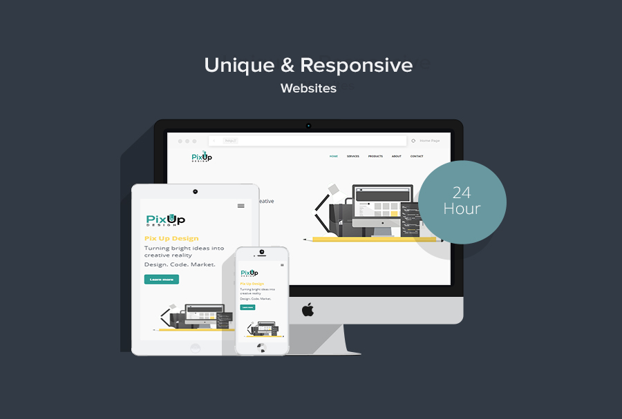 Design A Responsive Website In 24 Hours