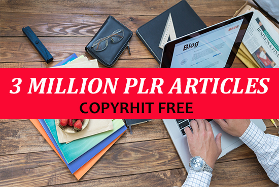 3 million plr articles with resale master