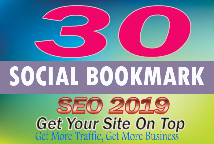 Manually Create 30 PR10 Social Bookmarking Backlinks get best Alexa Rank