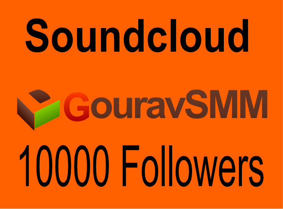 10000 Soundcloud Followers Or Likes Or Repost Very Fast