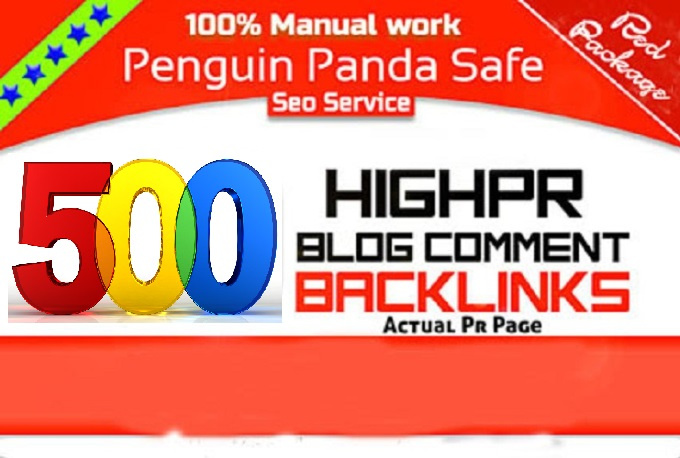 Create 500 High Pr Dofollow Blog Comments