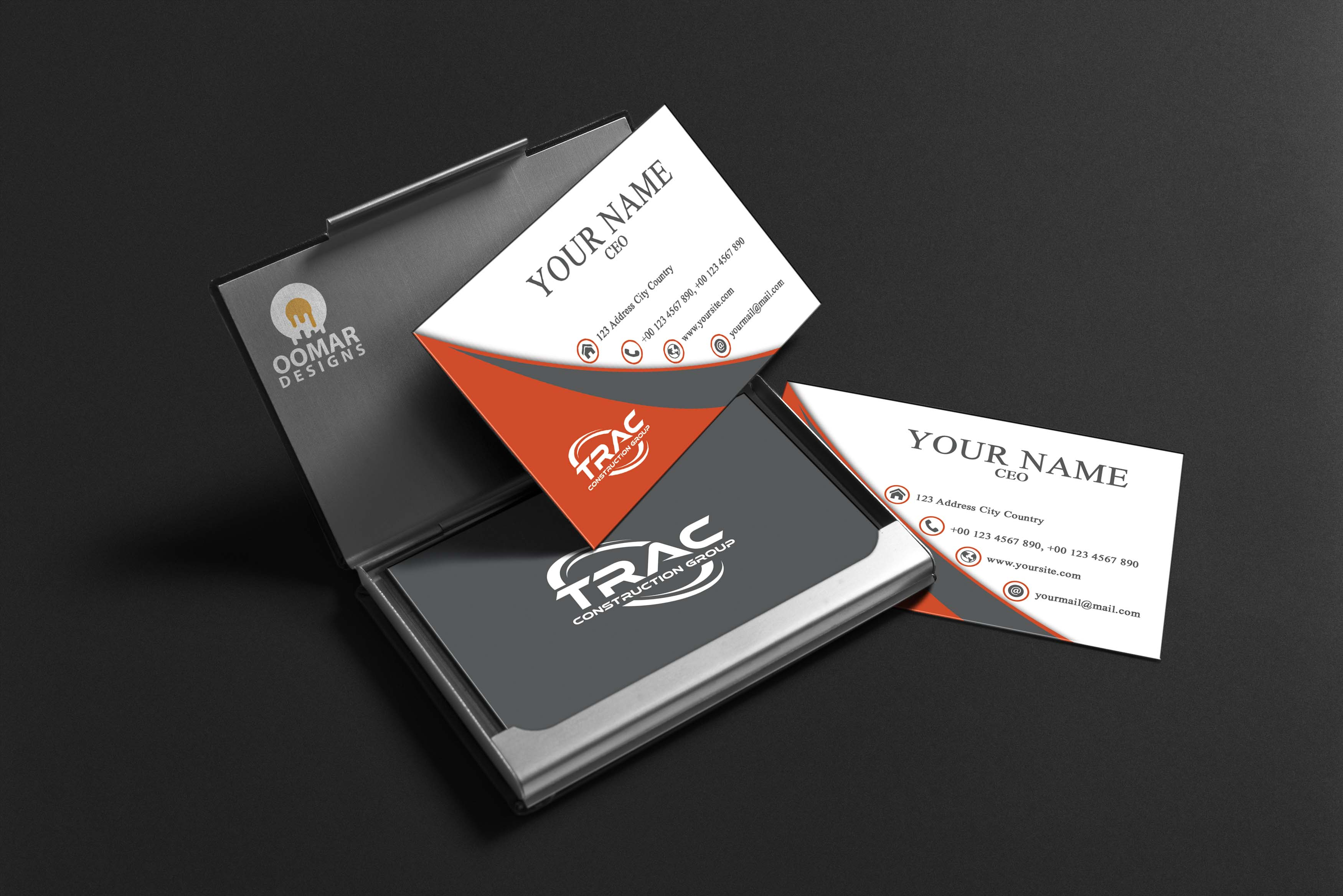Design a professional double sided business card for you for $10 ...