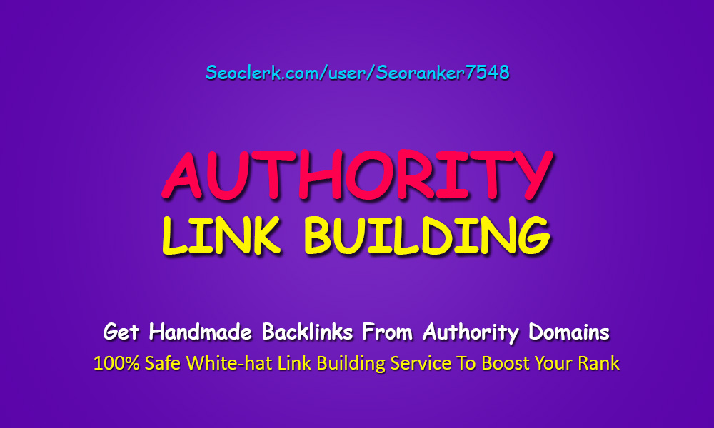 The Link Foundation - 2019 Rank Booster Complete White-Hat Authority SEO Service For Your Site