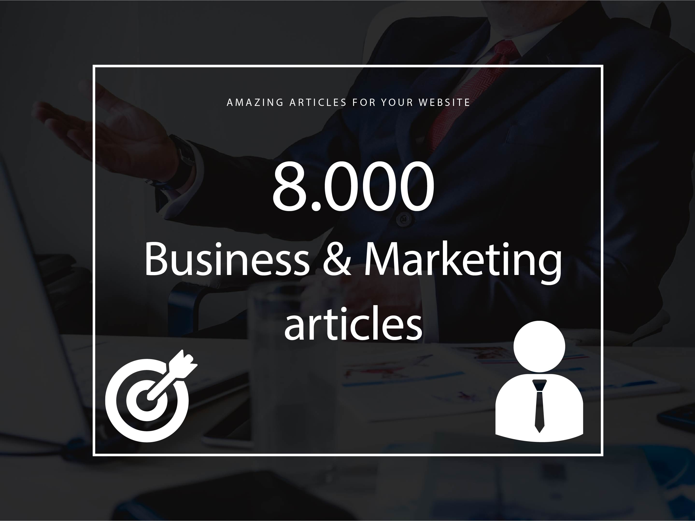8000 Business & Marketing articles