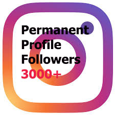 Get 3000+ Non Drop Profile Followers within 1-2 hours