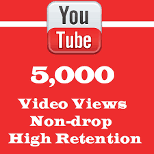 Non Drop 5000 +Guaranteed you tube views +50 likes Fast within 1-2Hours