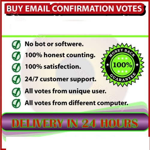 210+Email signup or registration confirmation votes, captcha, survey from different USA ips