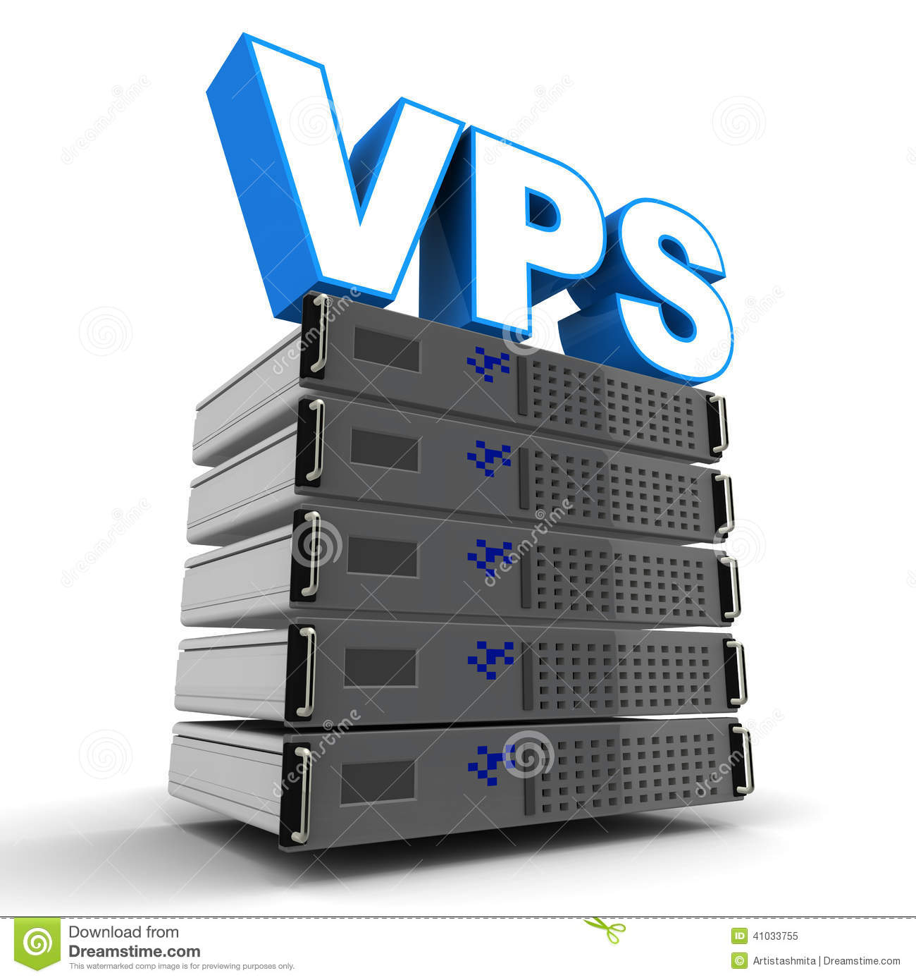 Windows VPS Server with 1 GB RAM and 2 GHz CPU