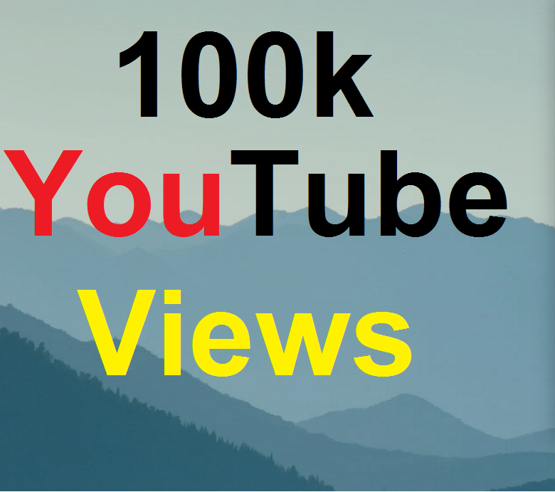 Get 100k High Quality You-Tube Vie-ws Fully safe Instant Start