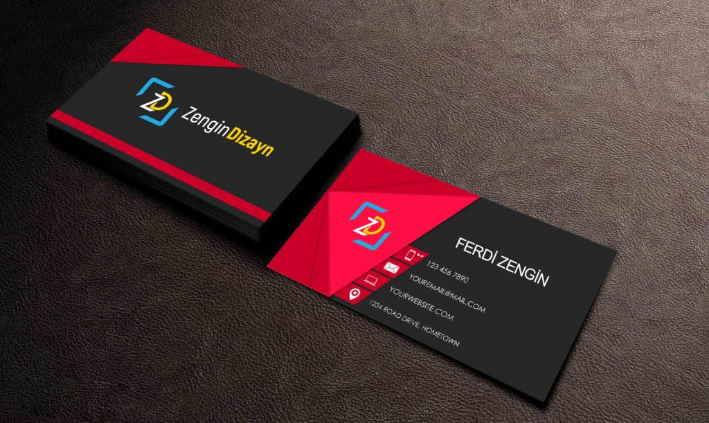 Professional Business card in 2 side for $5 - SEOClerks
