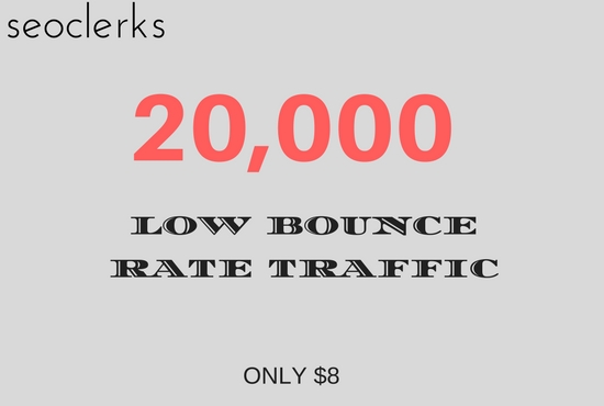 Drive Low Bounce Rate USA Targeted Traffic