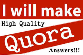 PROVIDE YOUR 30 QUORA ANSWERS