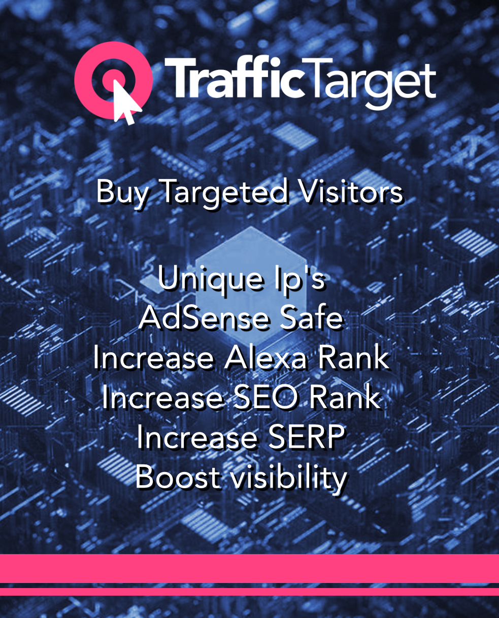 Buy targeted website visitors - 30000 visits/month