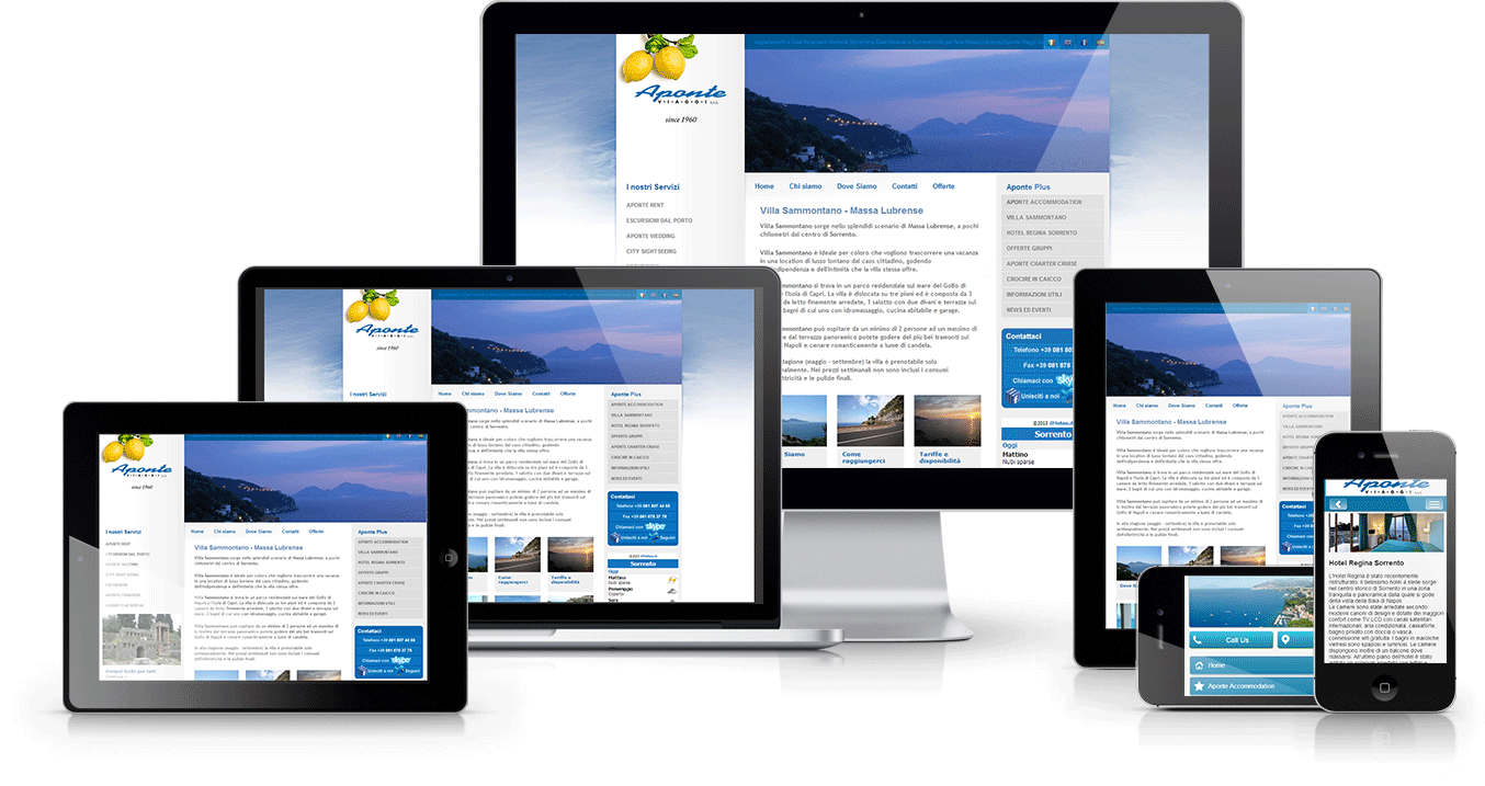 A stunning WordPress Website