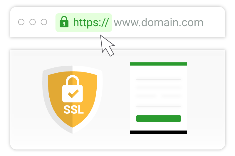 issue and install ssl certificate on your website