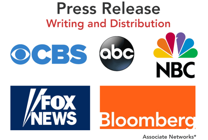 Write A Press Release And Deliver 10 Site.