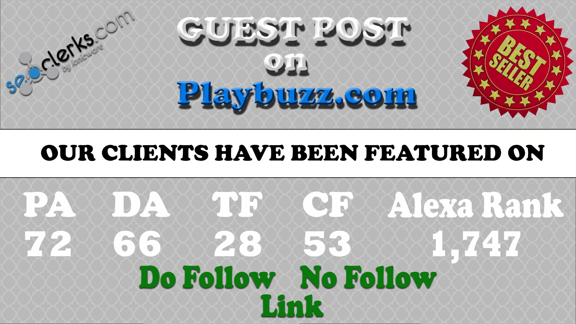 Write Guest Post On Playbuzz Da 66 Pa 72