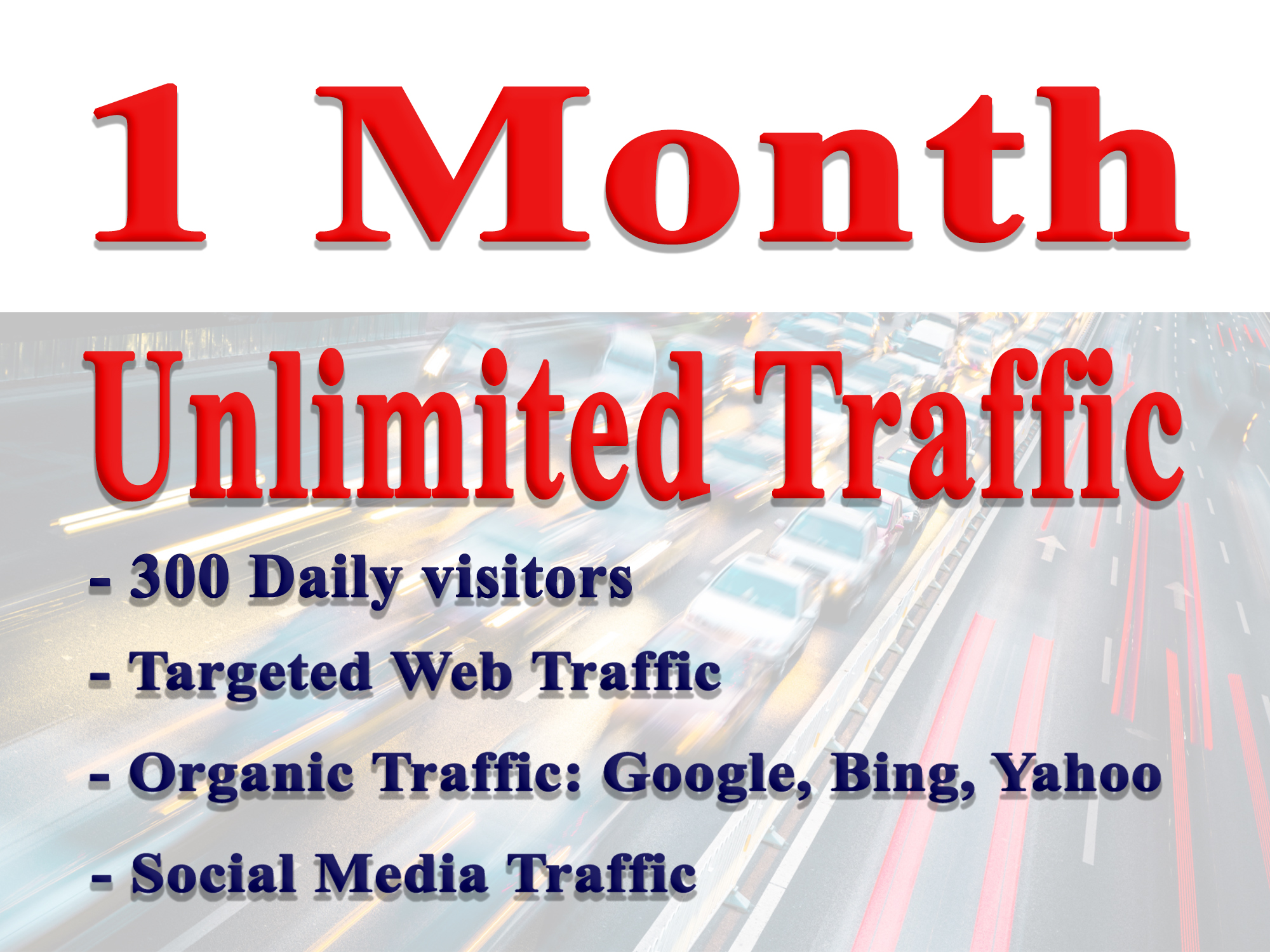 Drive Unlimited Website Traffic, Targeted, Geo Located