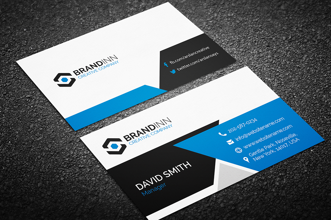 design professional double side business card for $5  seoclerks