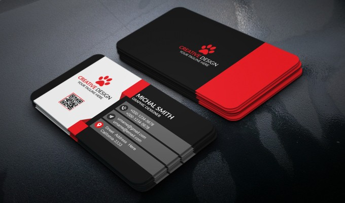 design professional double side Business card