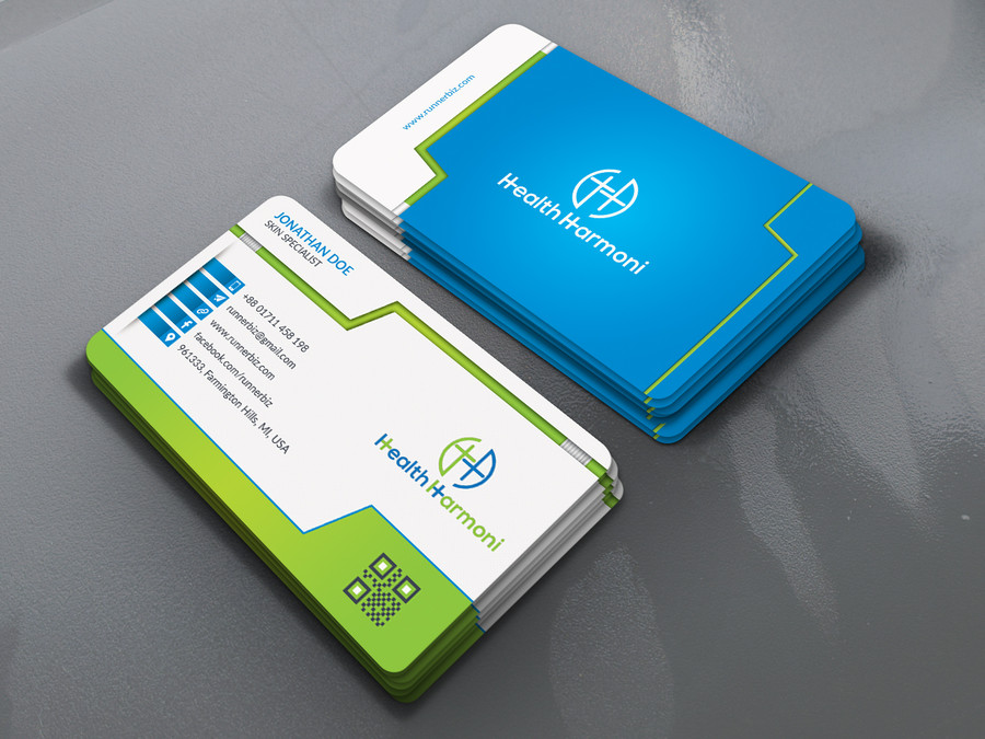 design professional double side Business card for $5 - SEOClerks