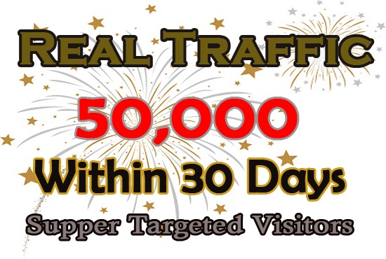 Provide Unlimited Targeted, Website, Traffic,  Real, Visitors TRAFFIC