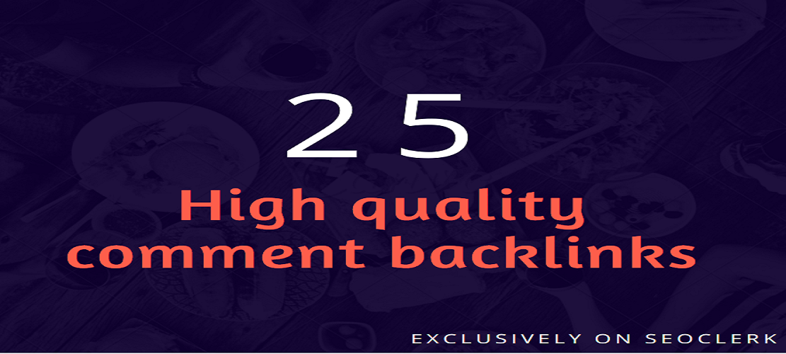 High Quality Comment Backlinks