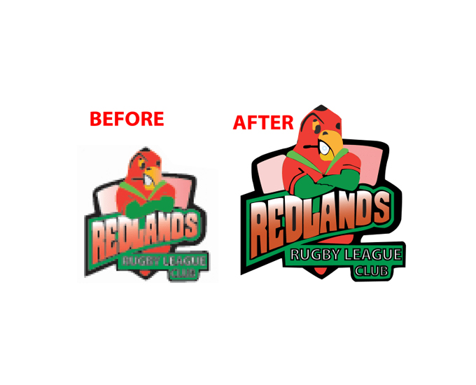Change your current low resolution image into high resolution vector image without any quality loss