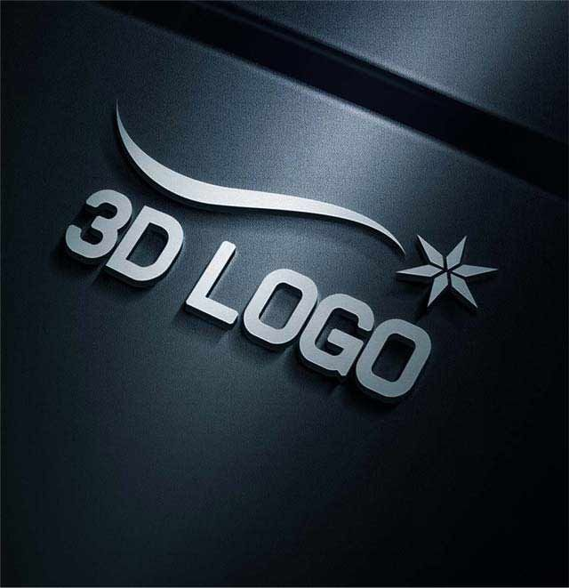Will design eye 3D catching logo with unlimited revisions