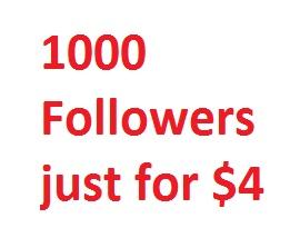 Get 1000 Profile or Playlist Followers