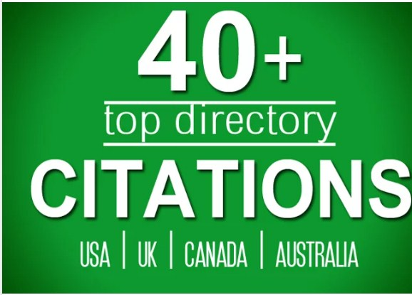 Do 40 Directory Citations For Usa,  Uk,  Canada Local Seo