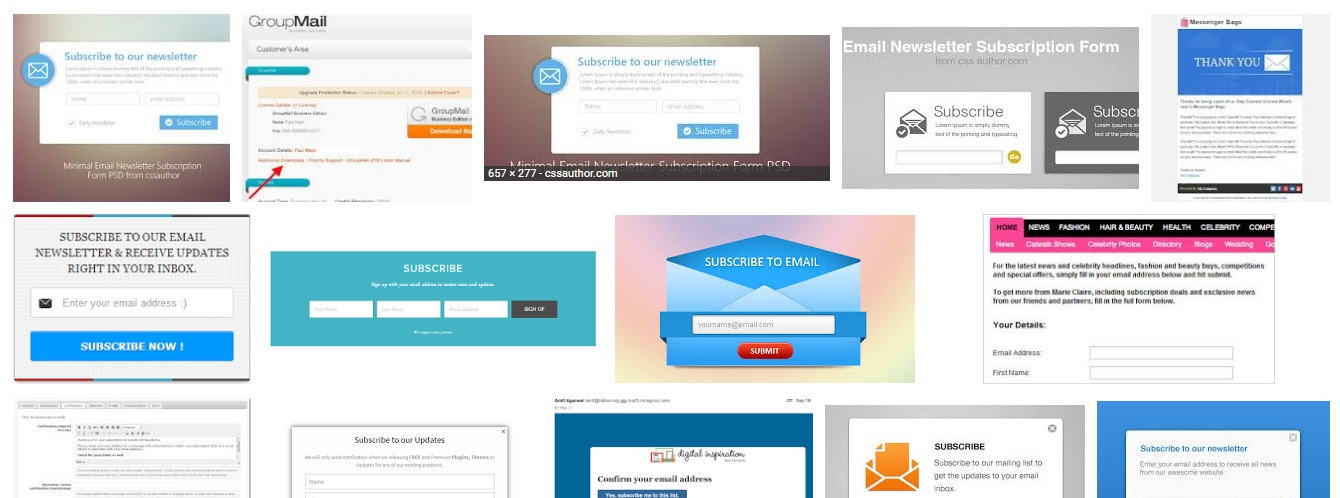 Setup e mail and newsletter campaign for your website for 25