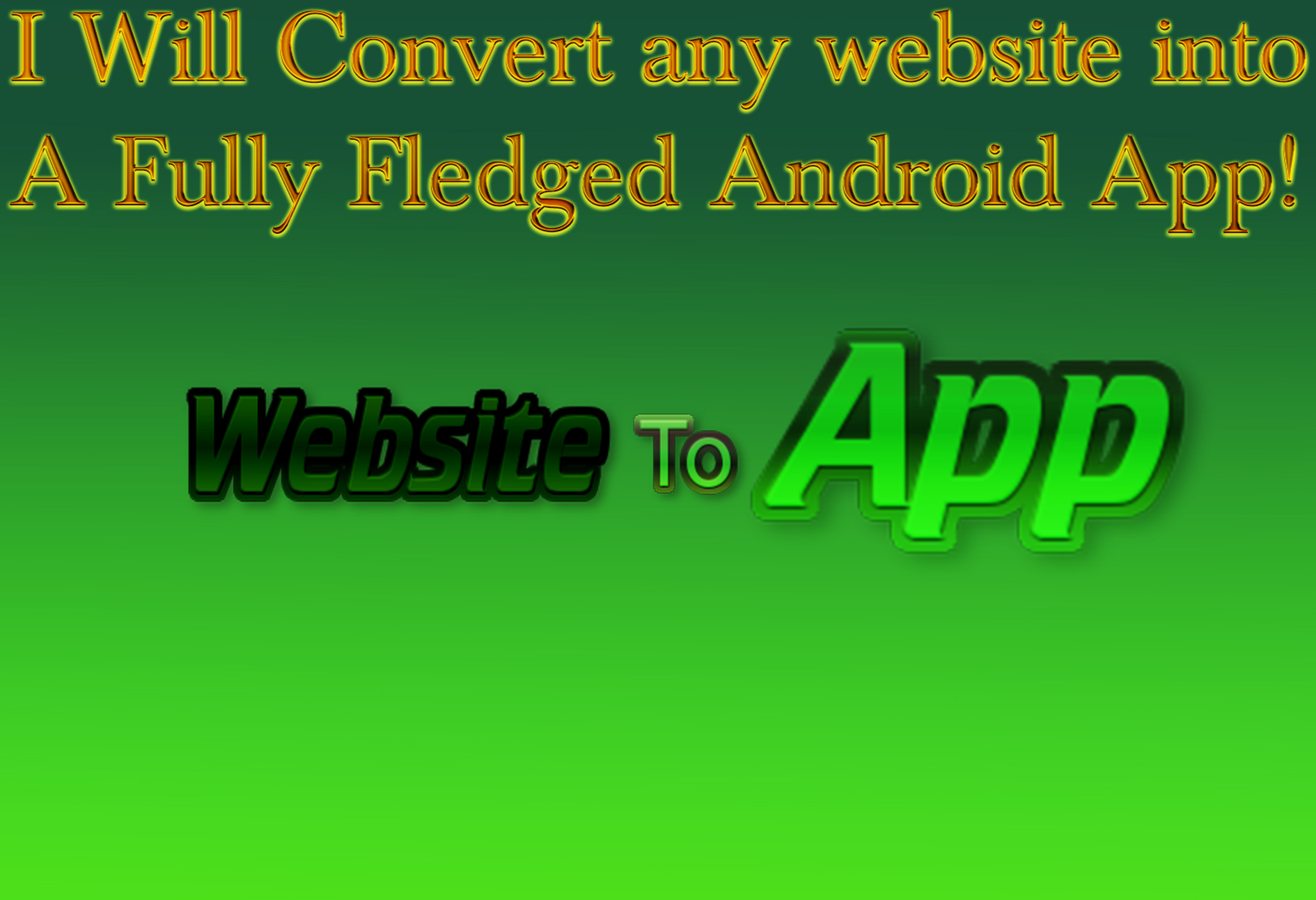 Convert any Website into a App