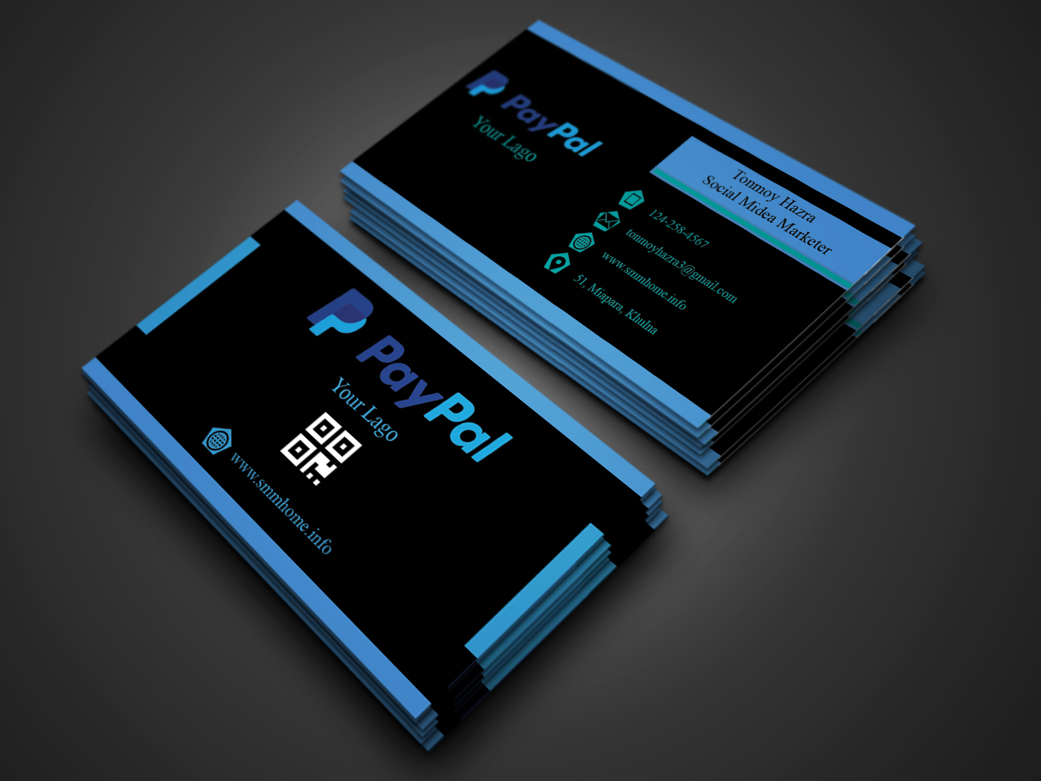 Design Professional Business Card With In 24 Hours for $5 - SEOClerks