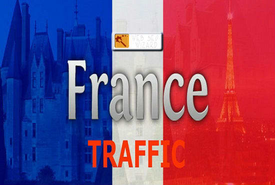 Drive france website traffic for 15 days