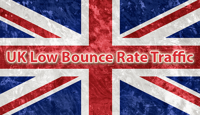 Send 5,555 your website low bounce rate traffic from the UK