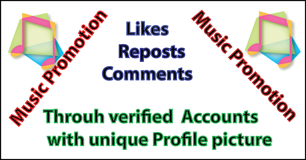 50 comments, 50 Reposts, and 50 like for a great Music Promotion
