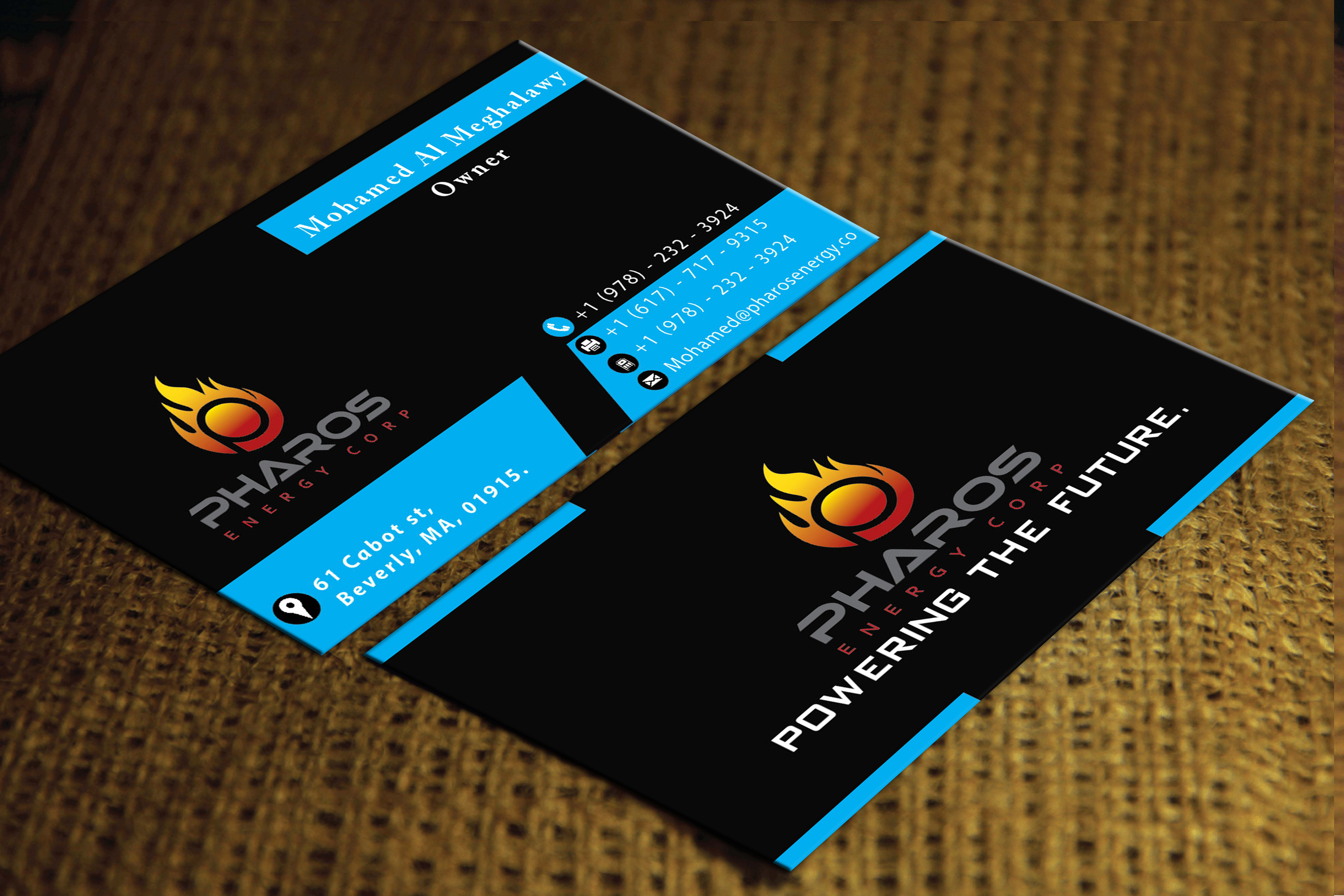 Design a professional double side Business card for 5 for $5 - SEOClerks