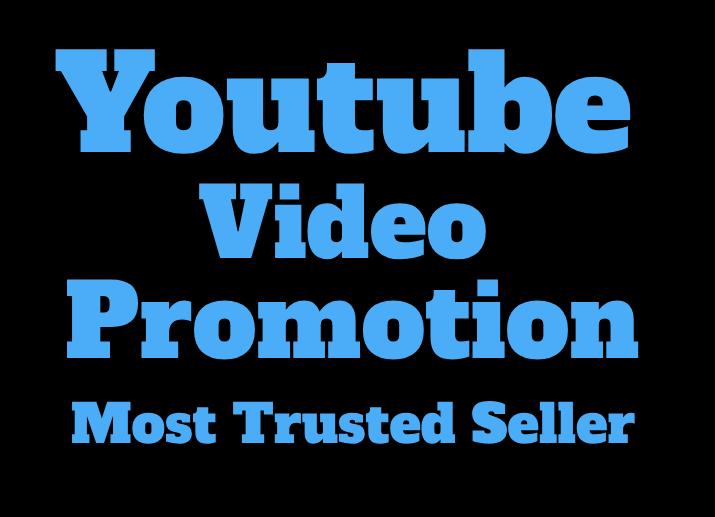 GENUINE YOU-TUBE VIDEO PROMOTION 20k