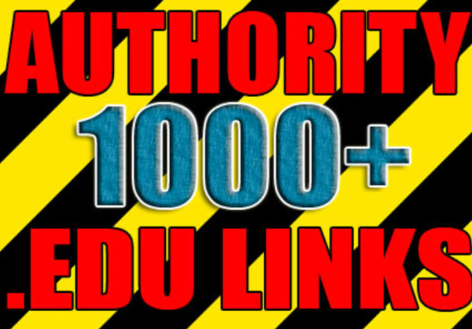 create 1000 edu and gov backlinks