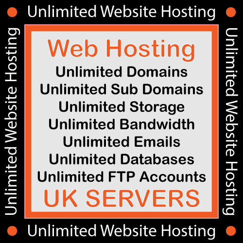 1 Years Unlimited Website Hosting