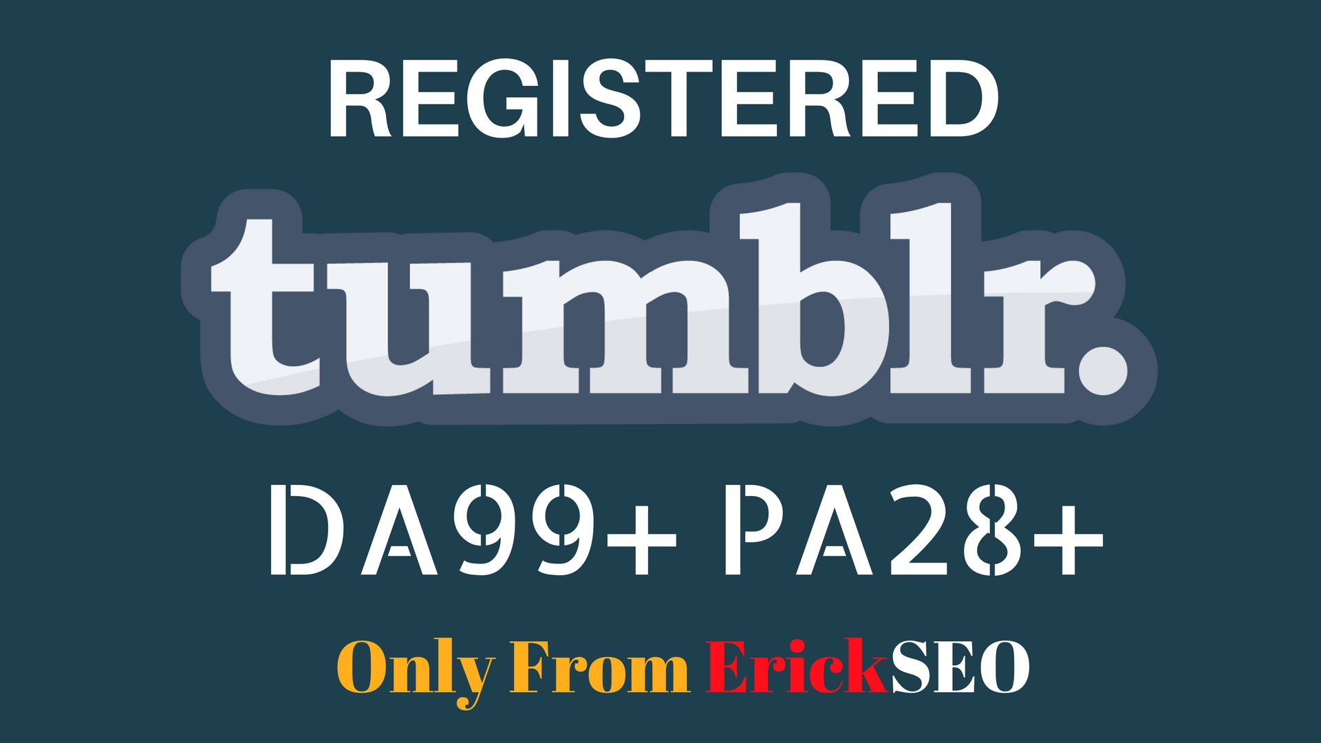 Register 5 Expired Tumblr Blogs PA 28+ Plus with login email and password