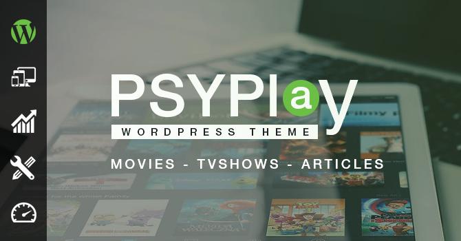 OFFICIEL Seller Make a Movie/TV SHOW streaming Website GoMovies PsyPlay v1.2.3 Wordpress Theme