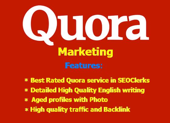 GET 50 SEO QUORA Backlink + 50 Answer. Majestic SEO Optimized
