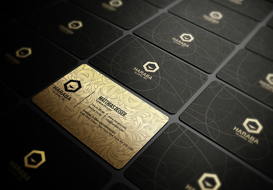 Design 2 unique and stunning business cards with source files