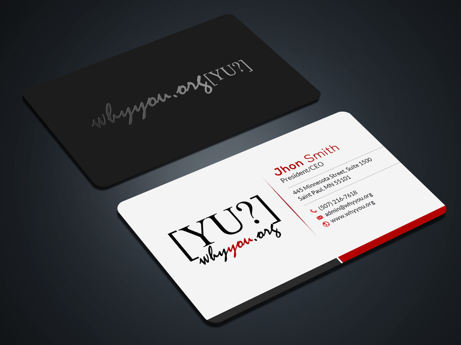 Design 2 unique and stunning business cards with source files for ...