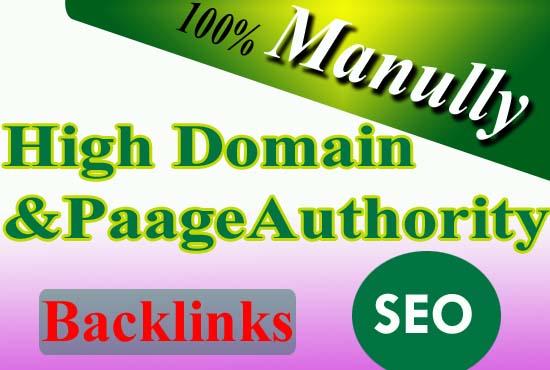 50 High domain authority backlinks