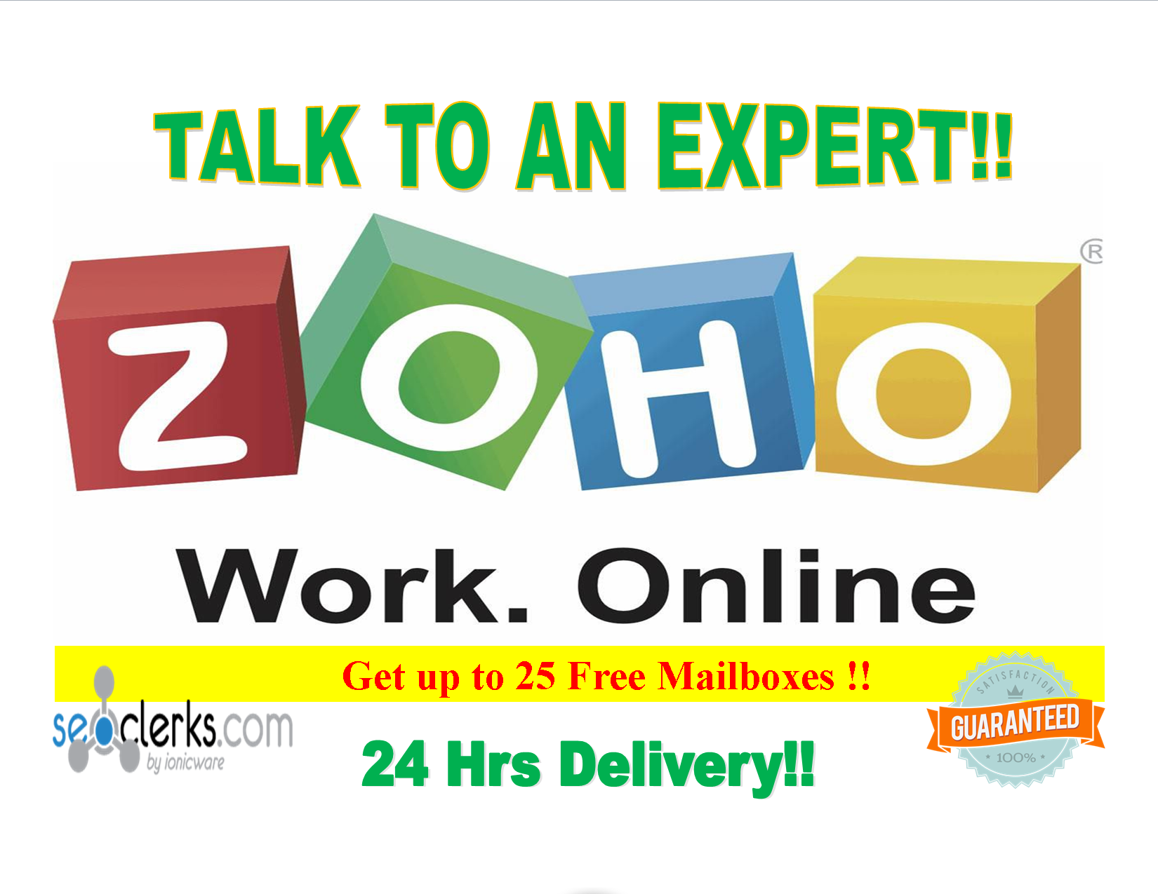 Setup Free Zoho Mail, Email With Your Domain In 24hrs